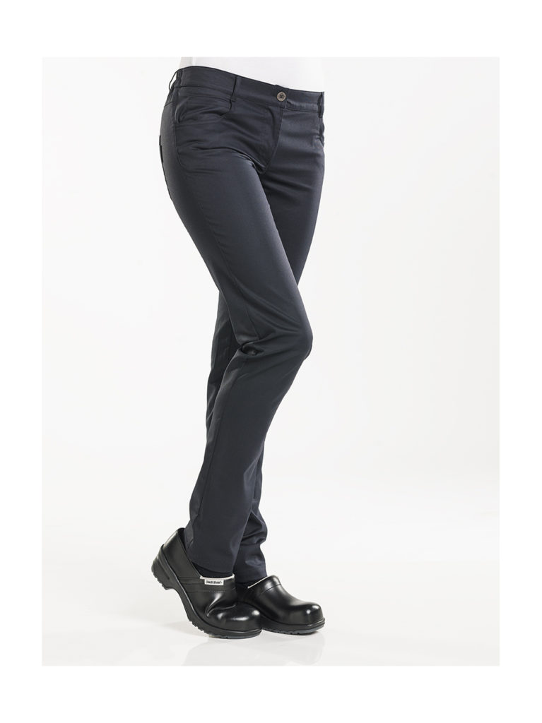 Chaud Devant Lady Skinny Black Stretch 198