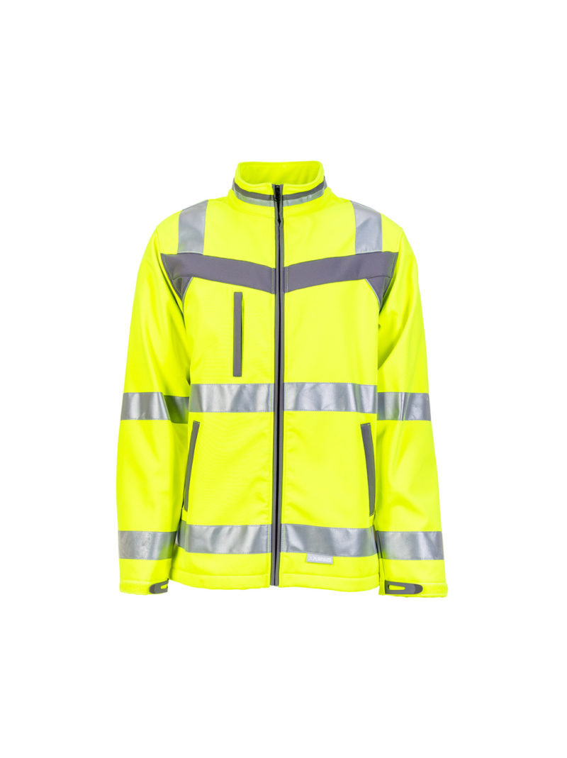 Planam Plaline High Visible Softshell Jacket