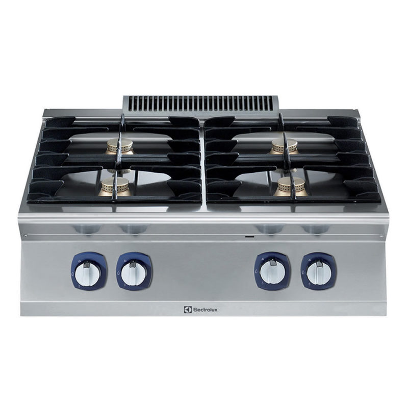 Electrolux Professional 700XP Fornuis, 4 open branders