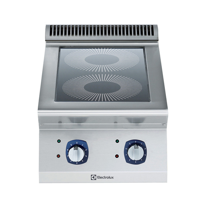 Electrolux Professional 700XP Fornuis, 2 inductie zones