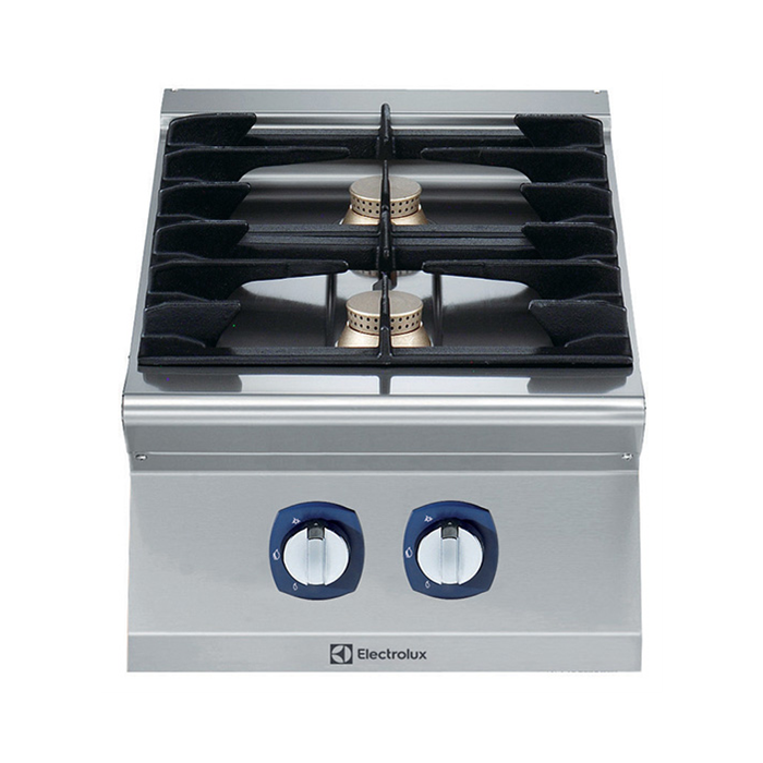 Electrolux Professional 700XP Fornuis, 2 open branders
