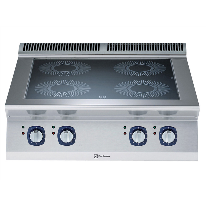 Electrolux Professional 700XP Fornuis, 4 inductie zones