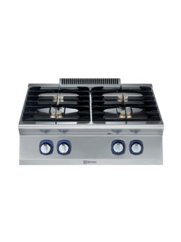 Electrolux Professional 700XP Fornuis 4 open branders